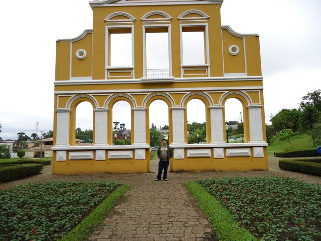 Portal Alemão no Bosque Alemão
