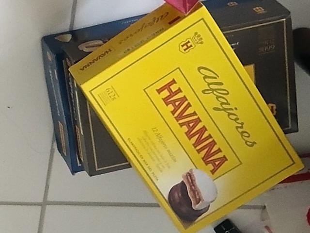Alfajores Havanna - impossível comer apenas um.