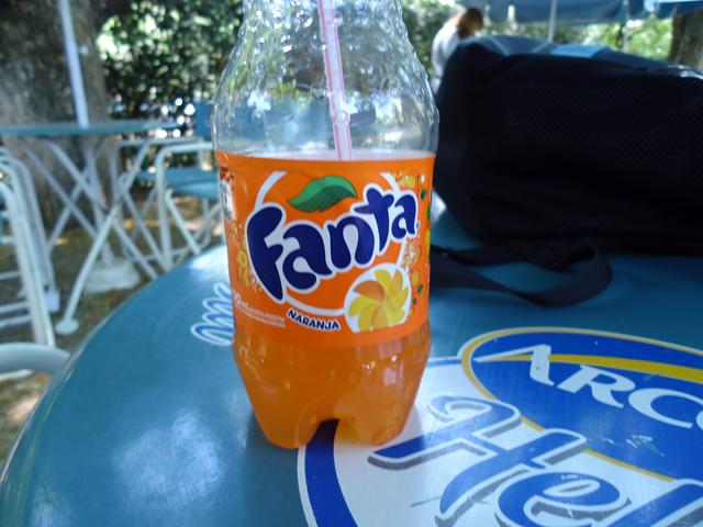 Fanta Naranja - Muito mais saborosa...