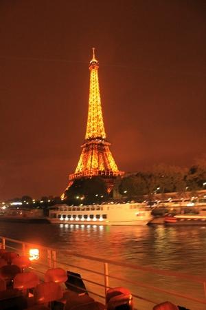 A grande Torre Eiffel