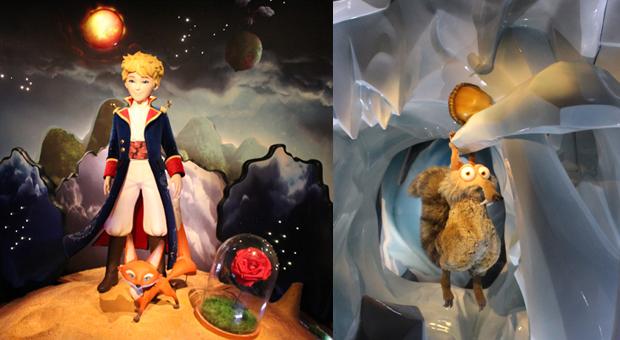 Os infantis: O Pequeno Príncipe e o Scrat!!!
