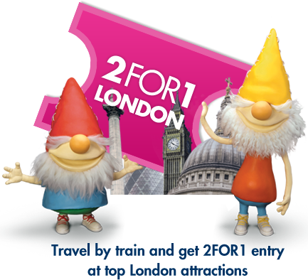 Promoção 2for1 London - Economize 50% em entrada de grandes atrações.