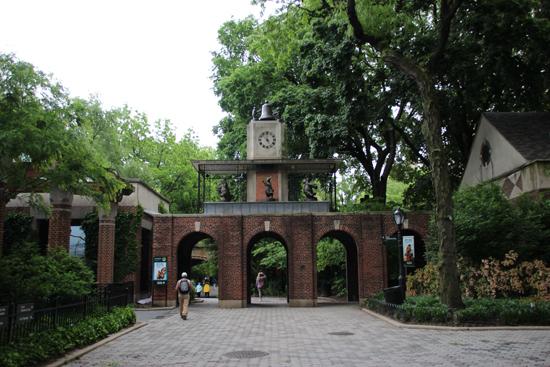 Outra atração famosa no Central Park Zoo é o Delacorte Clock, presente no filme Madagascar, por exemplo...