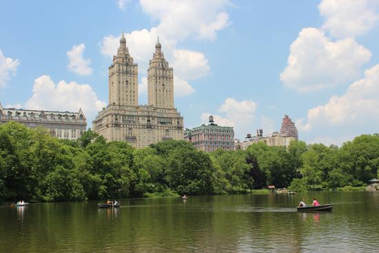 Central Park - um refúgio no meio da conturbada Nova Iorque.