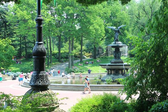 Bethesda Fountain, um lugar especial no coração do Central Park