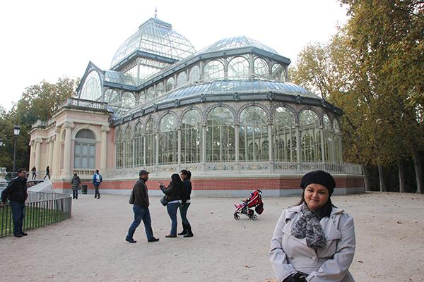 Palácio de cristal. Um dos poucos existentes no mundo todo.