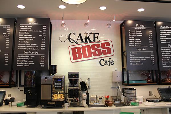 Cake Boss Café, dá para ver alguns preços...