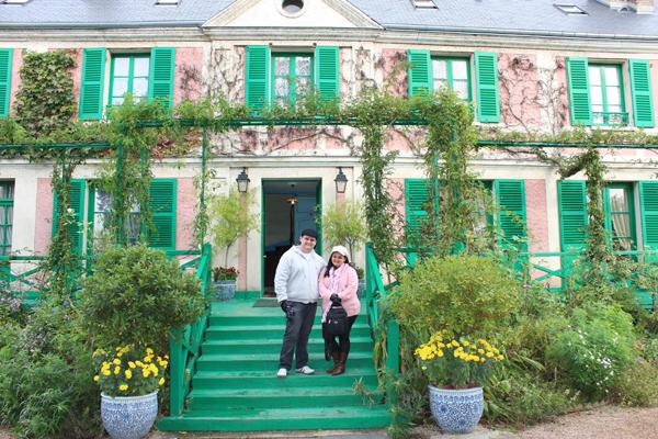 A Casa de Monet, um local preservado cheio de história do grande artista.