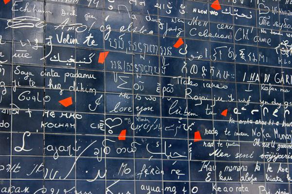 A frase em 311 línguas diferentes....