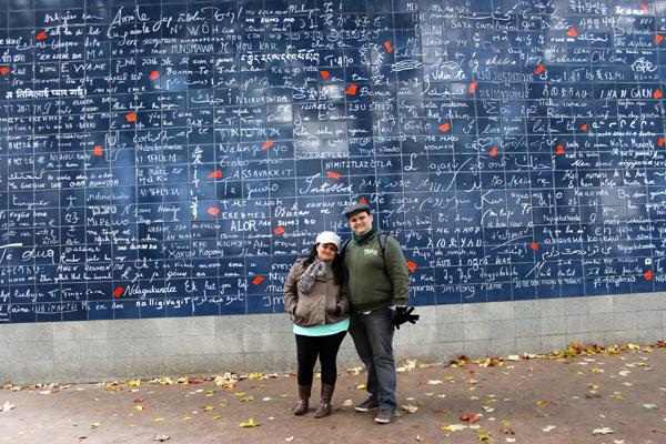 Nossa primeira viagem a Paris, conhecemos esse lugar especial...