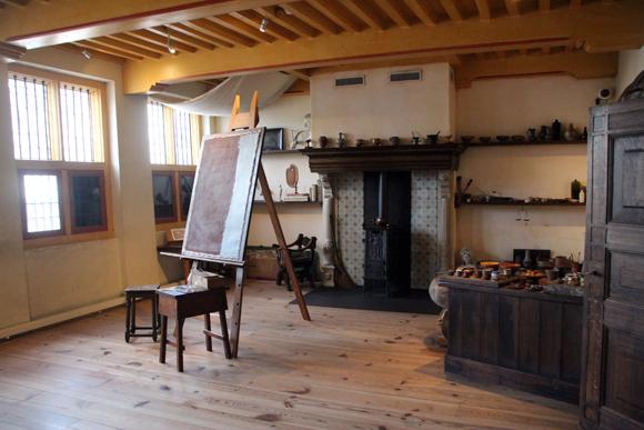 Museu Casa de Rembrandt, onde se pode ver os objetos de um dos artistas holandeses mais famosos...