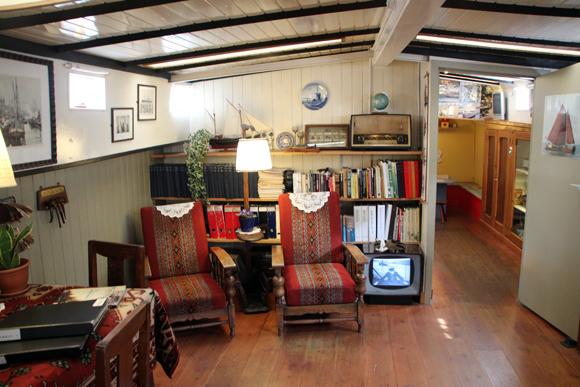 Museu da Casa-barco, um dos museus estranhos que você encontra só em Amsterdam...