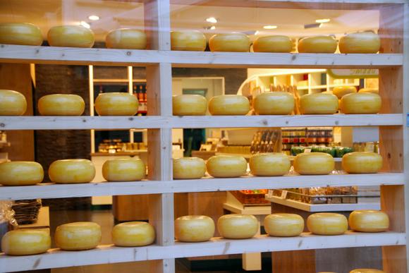 Uma perdição, os queijos feitos do leite das vacas holandesas... Só provando para ter noção do que estou falando...
