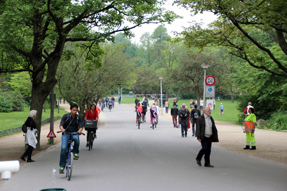 Vondel Park - um Central Park holandês...