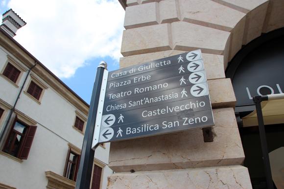 Tudo tão pertinho que dá para passear por toda Verona a pé...