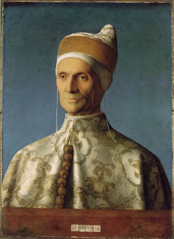 Retrato do doge Leonardo Loredano por Giovanni Bellini (1501).