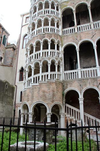 Palazzo Contarini del Bovolo, famoso por sua escada espiral, um lugar com muita história e beleza...