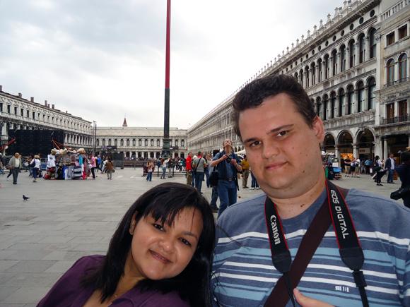 A imensa Piazza San Marco, encanta a todos que a visitam.