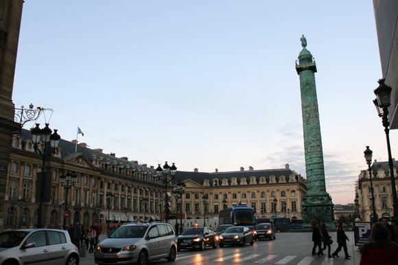 Place Vendôme - luxo e elegância têm endereço em Paris.