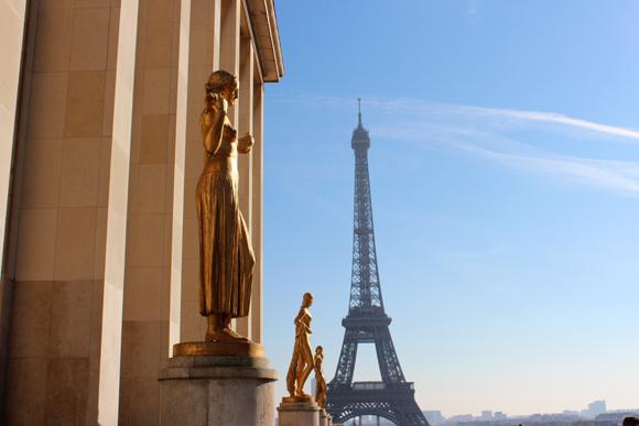 Vista de Chaillot, no Trocadéro. Precisa falar mais alguma coisa?