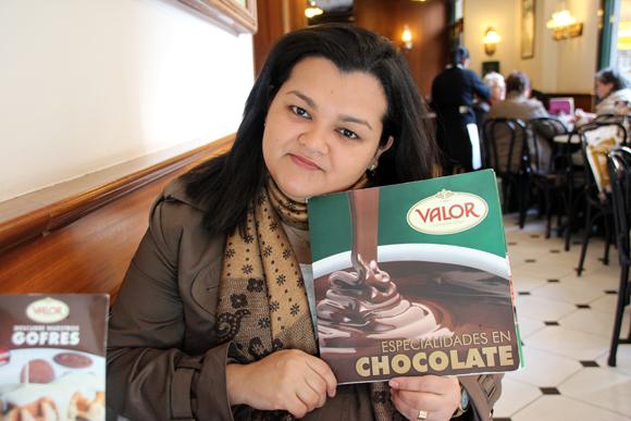 Só faltou um cardápio de chocolate...