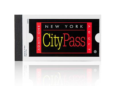 O booklet do New York CityPASS - um bloquinho com os ingressos das melhores atrações de NYC.