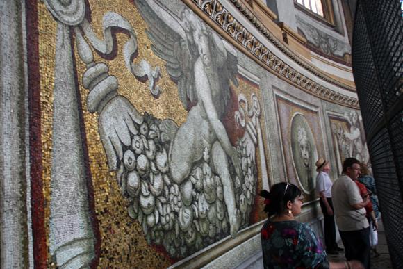 O Corredor dos mosaicos...