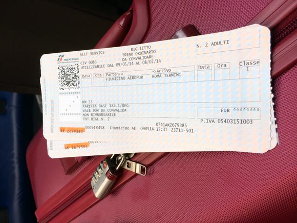 Os bilhetes