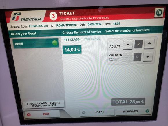 Seleciona a quantidade de bilhetes, selecionamos dois adultos.