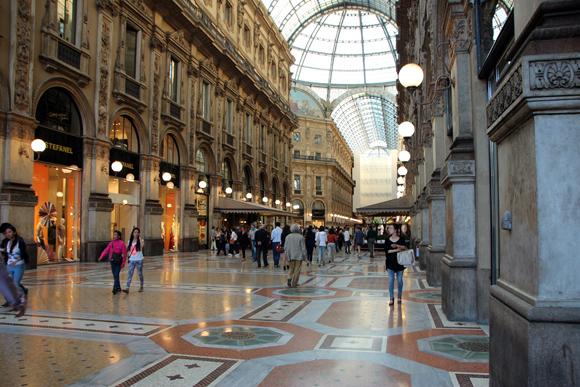 Galeria Vittorio Emanuelle um espetáculo de beleza e glamour...