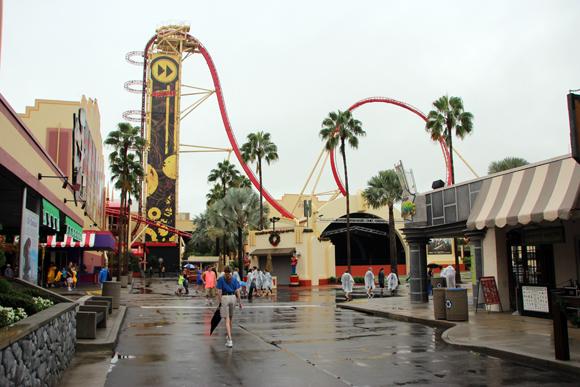 O melhore de um parque em dia de tornado... Vazio!!!
