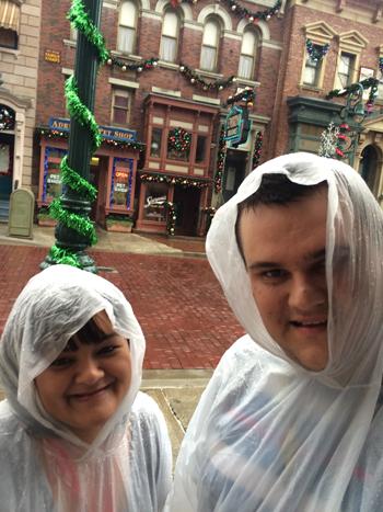 Nem chuva, nem tornado foram capazes de nos deter!!!