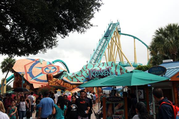 Kraken, o monstro marinho.