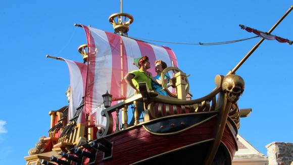 Peter Pan e Wendy, como eles fizeram parte da nossa infância... Aqui a gente não cresce nunca!!!
