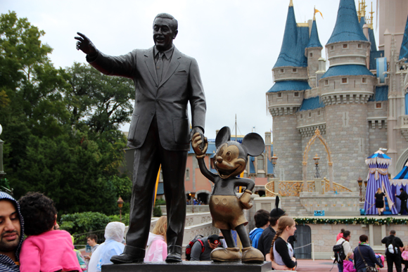 Walt Disney e Mickey, sua maior criação.