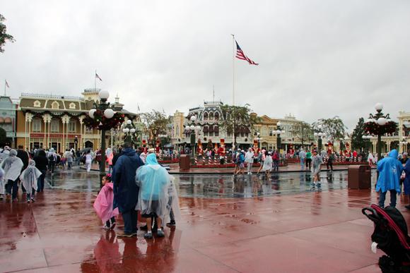 A Town Square, antes da Main Street, emoção à mil...
