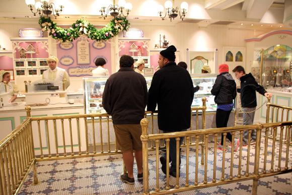 Ice creams e gostosuras não poderiam faltar...