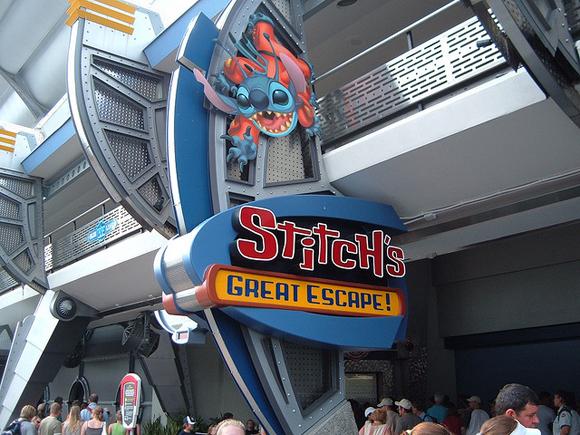 Stitch's great escape - digamos que foi uma atração cheia de surpresas que não vamos estragar... Foto de: