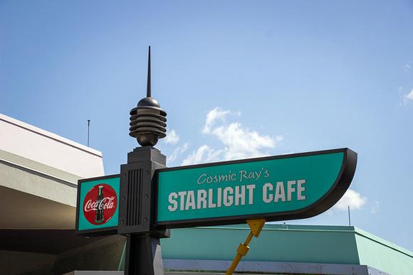 O Starlight Cafe - a maior loja de fast food do Mundo!!!