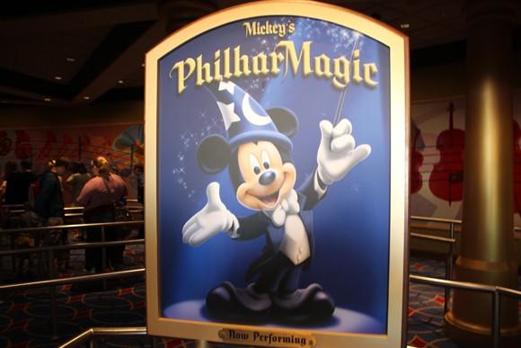 Em cartaz a orquestra da Disney...