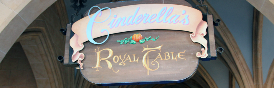 Cinderella's Royal Table – um almoço com as princesas