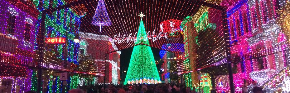 Show de luzes Natalinas na Disney – Osborne Family Spectacle