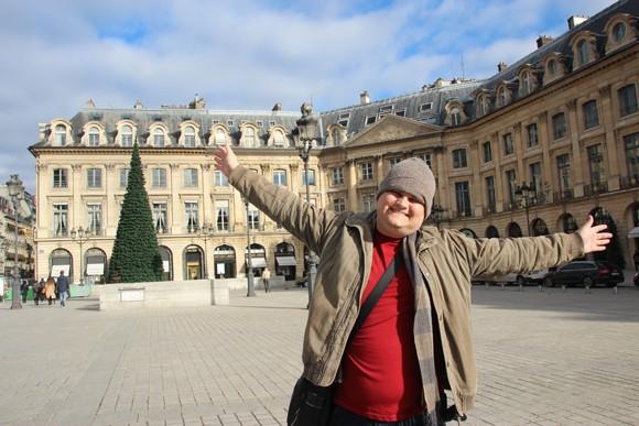 Place Vendôme, nosso cantinho especial de Paris.