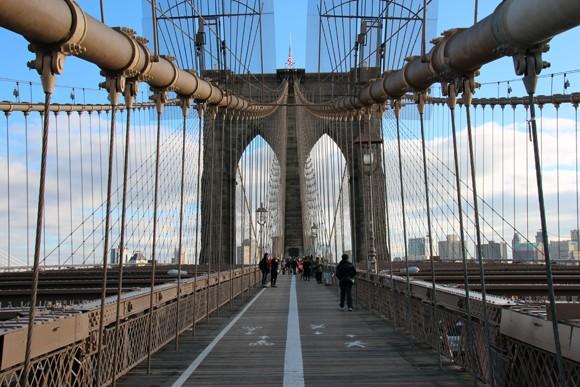 Um dos melhores pontos da ponte.