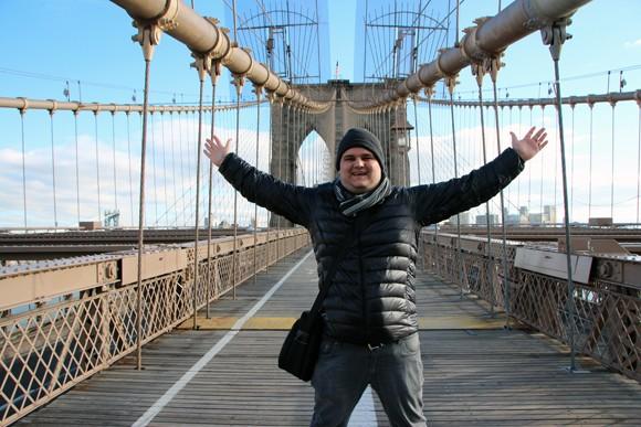Objetivo quase cumprido mas sem perder a alegria de estar em um lindo cartão postal de NYC.