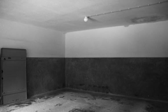 A sala dos corpos.