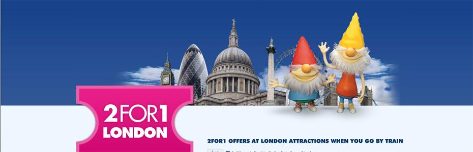 Como economizar em Londres – Promoção Pague 1 Leve 2